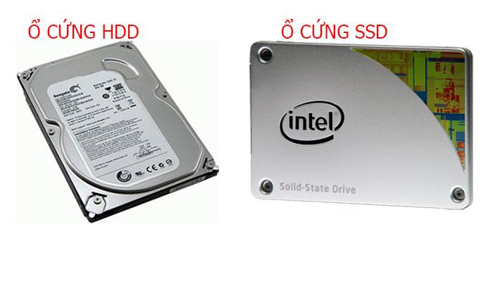 ổ cứng ssd là gì ổ cứng hdd là gì so sánh sự khác biệt
