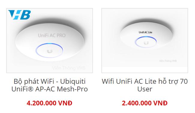 Bộ phát wifi gắn trần tiết kiệm không gian