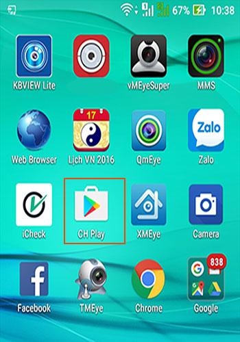 Hướng dẫn cài đặt camera hikvision trên điện thoại Adroid /IOS