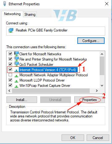 tại sao cắm dây mạng vào máy tính không nhận