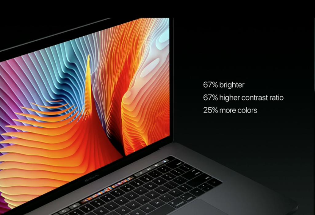 Apple ra mắt Macbook Pro 15 inch và 13 inch thiết kế hoàn toàn mới