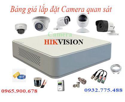 Các giải pháp lựa trọn lắp đặt camera quan sát trọn gói giá tốt nhất 2021
