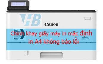 Chọn khay giấy máy in canon 214DW Canon 251DW