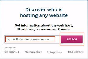 Cách kiểm tra tên miền của mình đang dùng đăng ký ở cty  nào ?