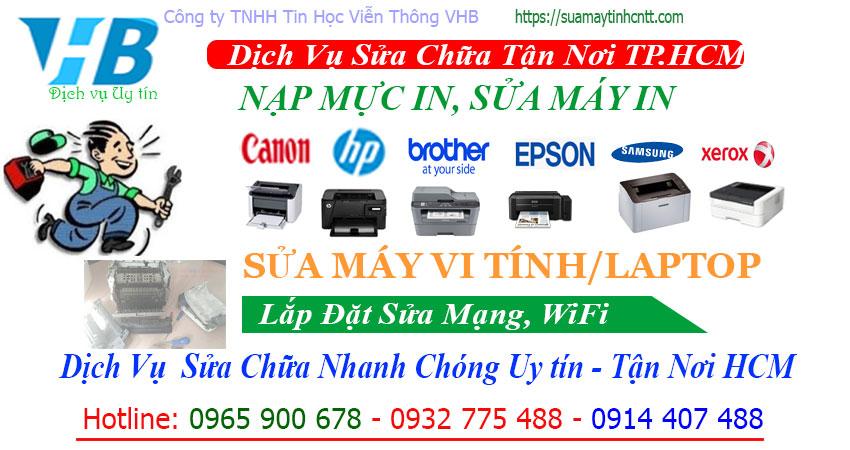 Cty Nạp Mực In Quận Tân Phú Giá tốt nhất HCM