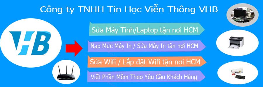 VHB - địa chỉ sửa laptop uy tín ở tphcm dành cho bạn