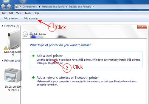 Hướng Dẫn Cài đặt Máy in Photocopy Fujixerox 3065 cho Máy Tính