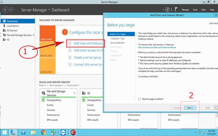 Hướng dẫn Cấu hình VPN trên Server 2012 NAT Port qua Ineternet