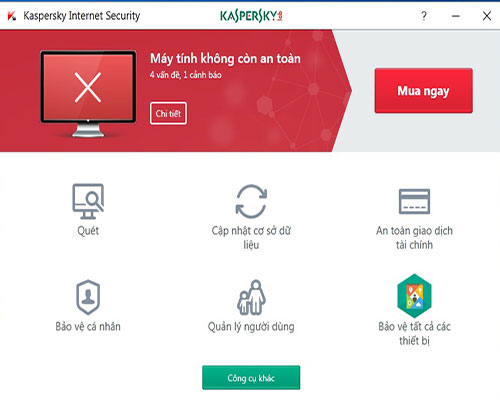 Hướng dẫn diệt virus trên phần mềm kasperskey internet sercurity
