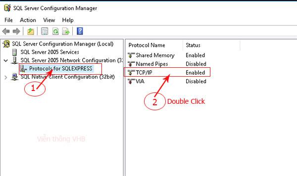 Hướng dẫn đổi port trên SQL server cách Nat Port SQL server