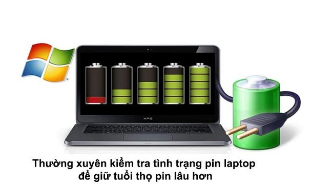 Hướng dẫn kiểm tra độ chai pin laptop tại nhà │Tin học Viễn thông VHB
