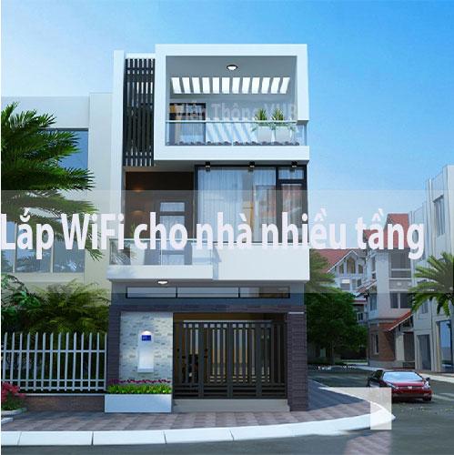 Lắp đặt wifi cho nhà nhiều tầng khó hay dễ  ?
