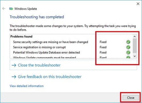 Lỗi Window Update win10 và cách khắc phục (phần 1)
