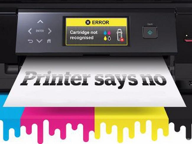 Máy in báo lỗi error printing