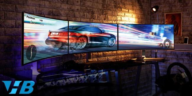 Máy tính 2 màn hình hỗ trợ công việc và giải trí