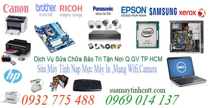 Sửa Máy Tính Quận Phú Nhuận ,Sửa Máy In Nạp Mực In HCM