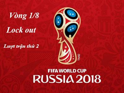 Trận đấu Vòng 1/8 thứ 2 đã kết thúc rất hấp dẫn Kịch Tính  Vòng Lock out worldCup 2018