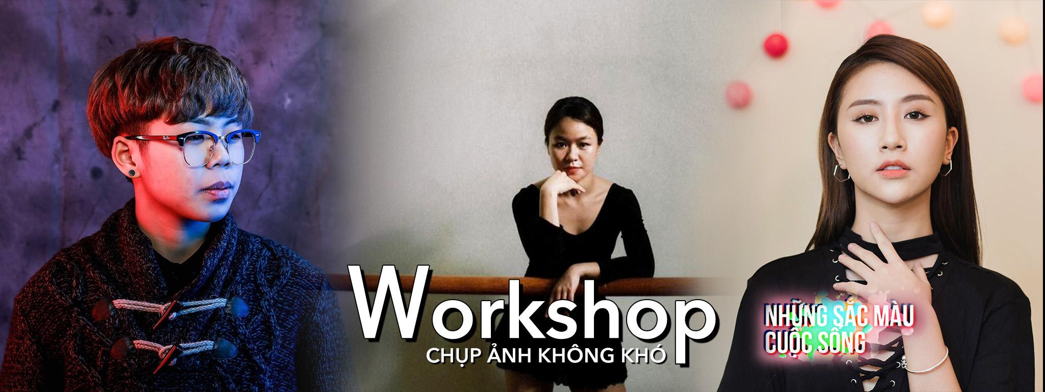 Workshop & Chụp ảnh người mẫu tại Phim trường Smiley Ville Đông Anh - Chủ Nhật 20/11