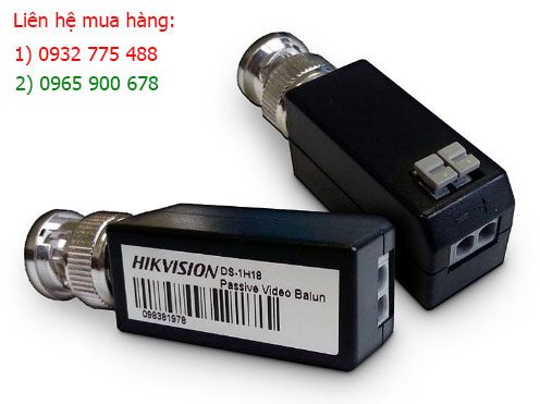 Balun Hikvision xịn DS-1H18 Video balun Full HD