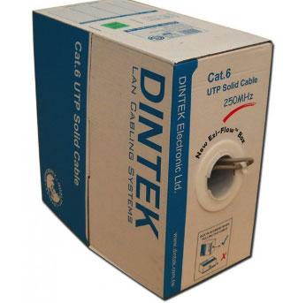 Cáp Mạng Dintek Cat.6E UTP | Cáp Mạng Dintek Cat6U giá rẻ
