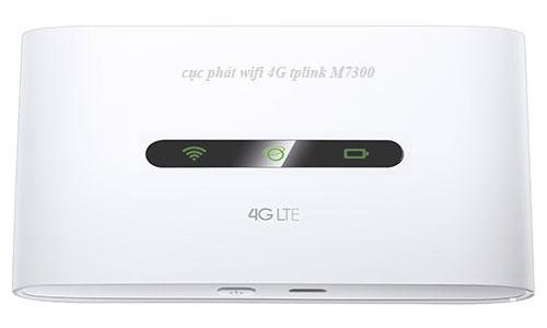 Cục phát wifi  4G tplink m7300 thiết bị phát wifi 4G di động