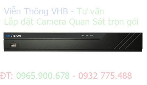 Đầu ghi 8 kênh KX-7108H1 H265+ KBVISION