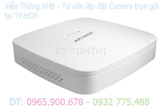 Đầu ghi hình KBvision  KX-7104TH1 H265+