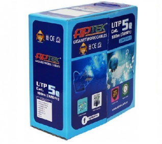Dây Cáp mạng APTEK CAT5E UTP 305m | Day Cáp Mạng Giá rẻ HCM