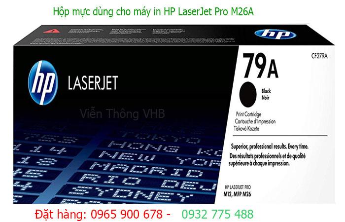 Hộp mực  in hp  LaserJet Pro M26A (CF279A)
