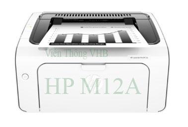 Máy in HP LaserJet Pro M12a Printer (In trắng đen)