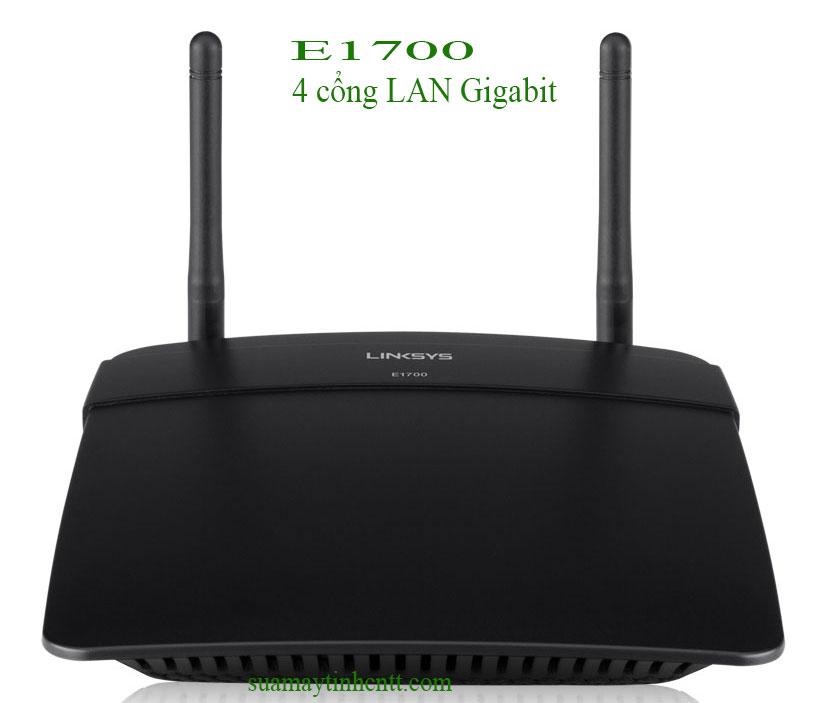 Modem Wifi Linksys E1700