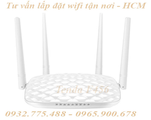Modem WiFi Tenda F456 300Mbps Wireless N Smart Router