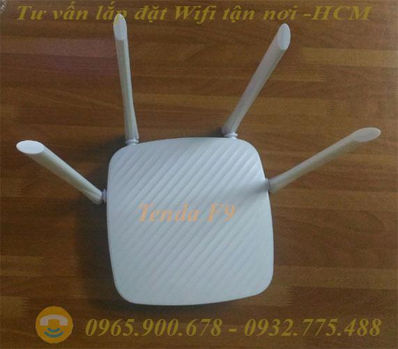 Modem WiFi Tenda F9 600Mbps 04 Angten 6dBi