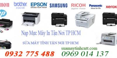 Nạp Mực Máy In Quận 3 Tận Nơi, Nhanh Chóng, Giá Rẻ Tại TPHCM